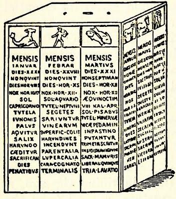 Calendario Antico.Il Calendario Dell Antica Roma Insiemesullavia